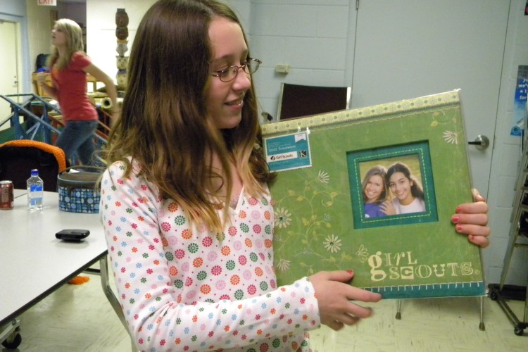 Girl Scouts Scrapbooking
