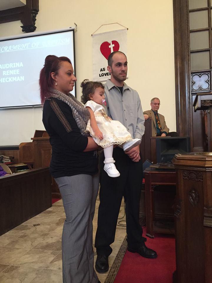 Audrina Baptism