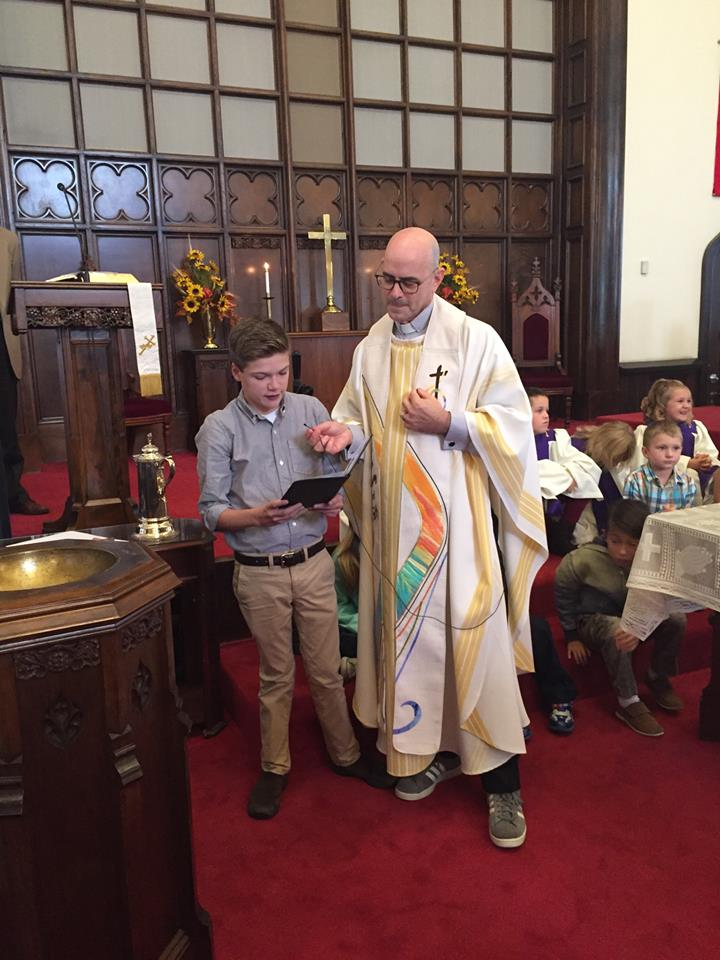 Rev. Ian and Tom