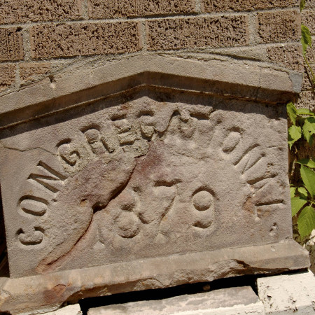 Congregational Church Cornerstone - 1879
