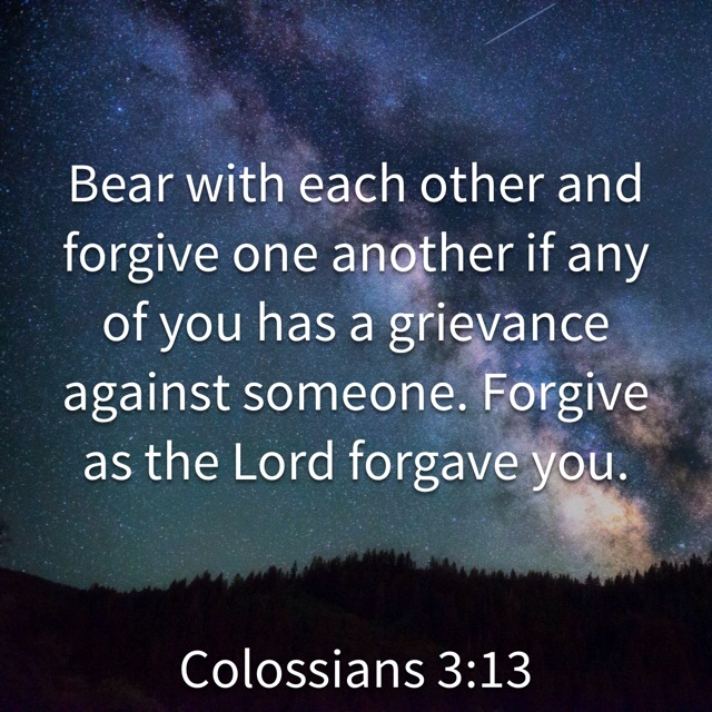 Colossians 3, Verse 13