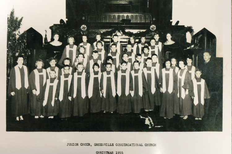 Junior Choir - Christmas 1955