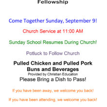 Come Together Sunday