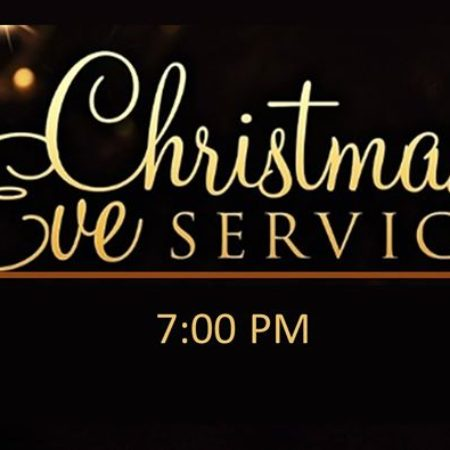 Christmas Eve Service - 7:00 pm